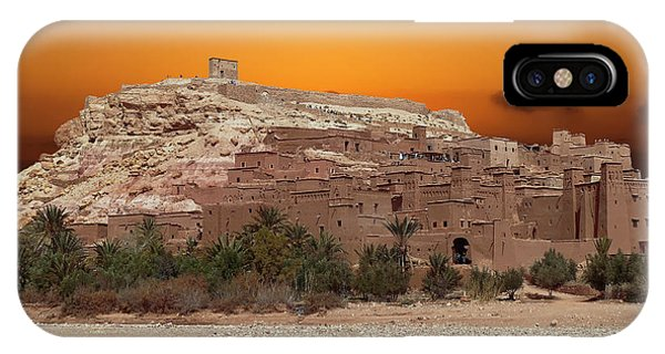Mud Brick Buildings Of The Ait Ben Haddou IPhone Case