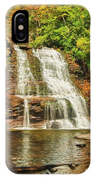 Muddy Creek Falls IPhone Case