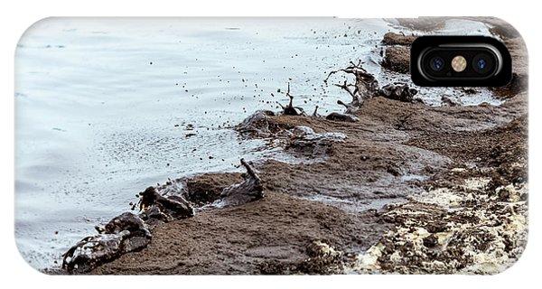Muddy Sea Shore IPhone Case