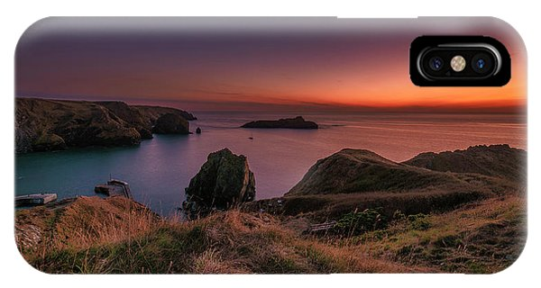 Mullion Cove - Sunset 2 IPhone Case