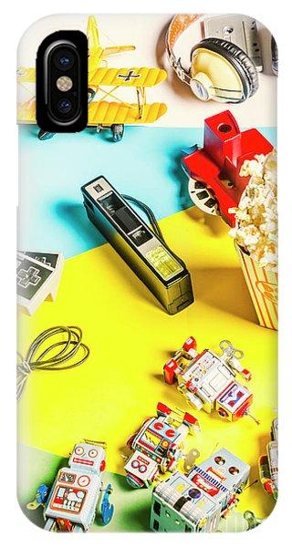 Fun iPhone Case - Multicolour Memorabilia by Jorgo Photography - Wall Art Gallery
