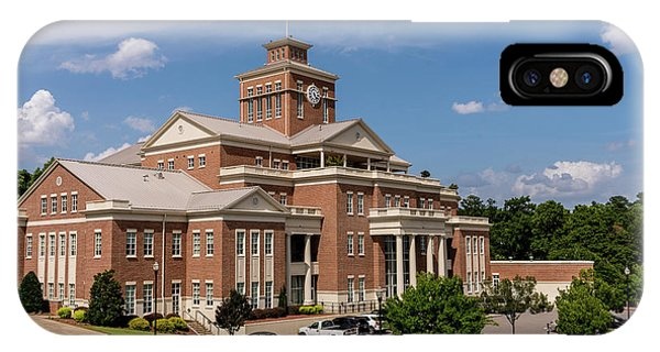 Municipal Building - North Augusta Sc IPhone Case