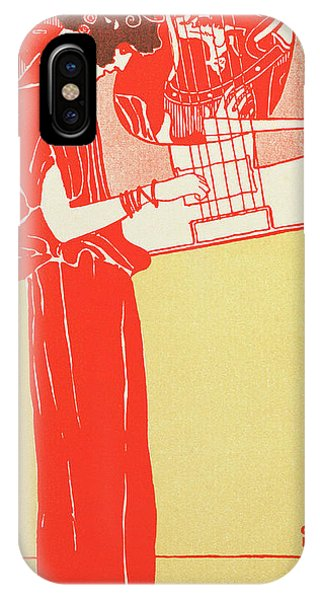 Strum iPhone Case - Music By Klimt by Gustav Klimt