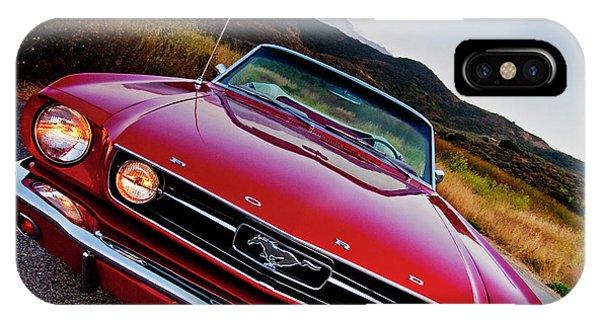 Mustang Convertible IPhone Case