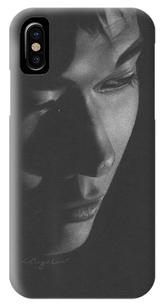 Muted Shadow No. 10 IPhone Case