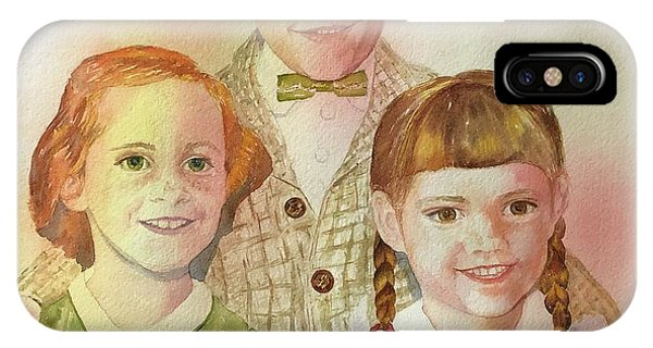 The Latimer Kids IPhone Case
