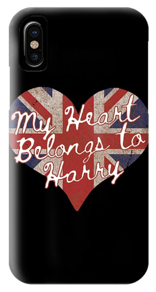 My Heart Belongs To Prince Harry IPhone Case