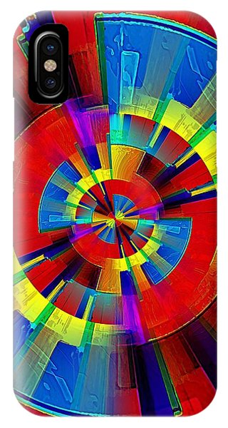 IPhone Case featuring the digital art My Radar In Color by David Manlove