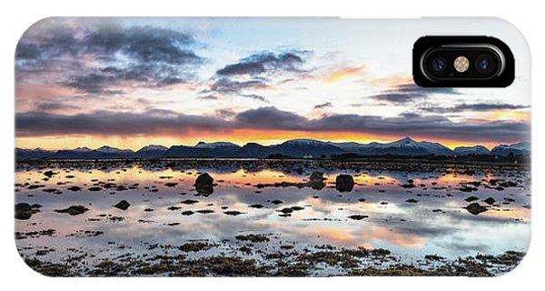 Myre Swapm Walkway On Vesteralen Norway IPhone Case