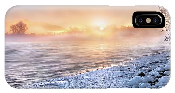 Mystical Winter Morning IPhone Case