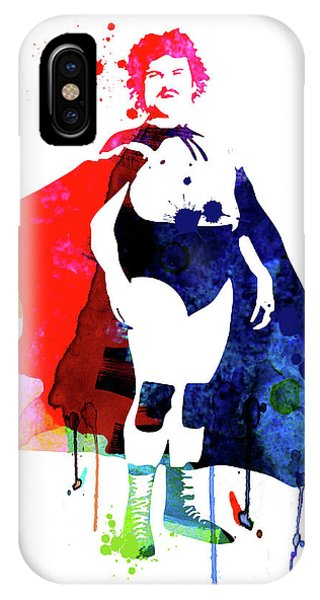 Film iPhone Case - Nacho Watercolor by Naxart Studio