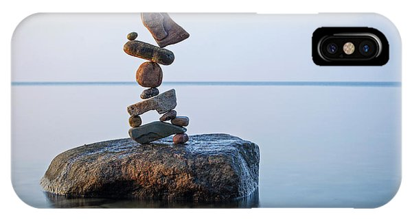 Zen Stack #9 IPhone Case