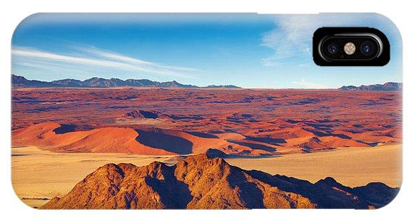 Heat iPhone Case - Namib Desert, Dunes Of Sossusvlei by Dmitry Pichugin