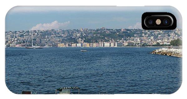 Naples Port IPhone Case