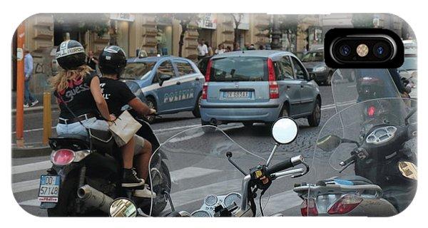 Naples Street Buzz IPhone Case