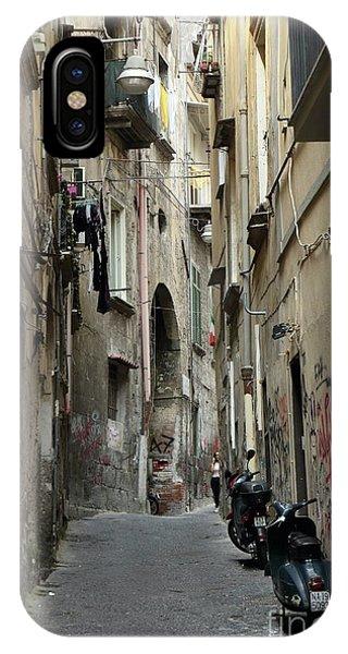 Naples Street IPhone Case