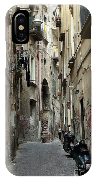 Naples Street IPhone Case