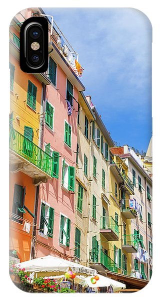 Narrow Street And Colorful Houses Phone Case by Russ Bishop