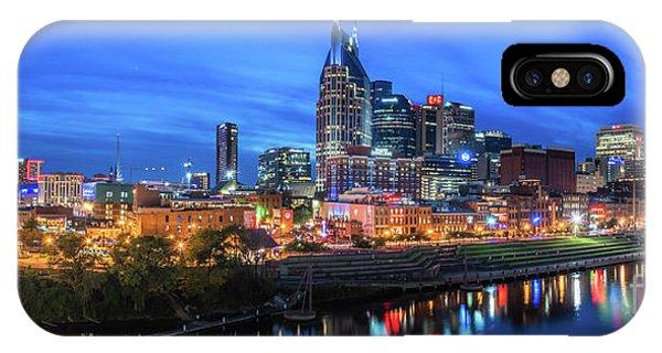 Nashville Night IPhone Case