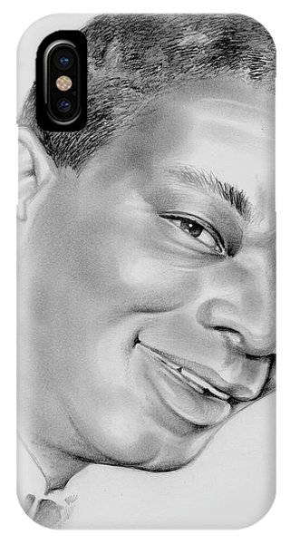 Sketch iPhone Case - Nat King Cole by Greg Joens
