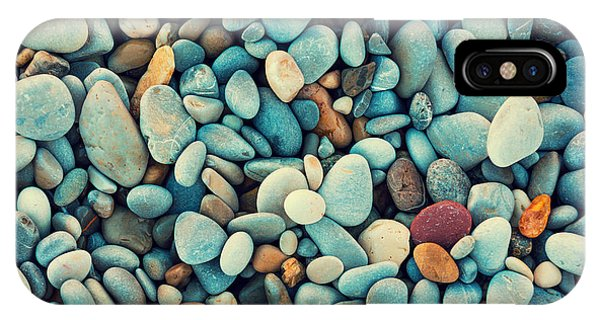 Seashore iPhone Case - Natural Abstract Vintage Colorful by Vvvita