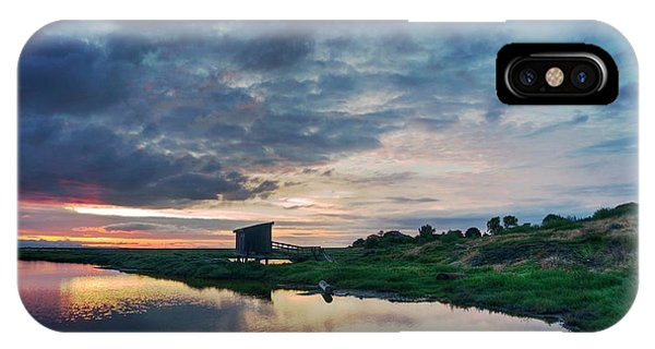 IPhone Case featuring the photograph Nature Spectacle In Alviso by Quality HDR Photography