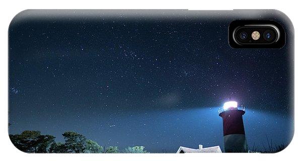 Nauset Light Under The Stars IPhone Case