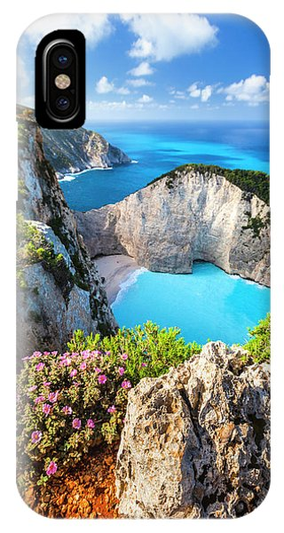 Greece iPhone Case - Navagio Bay by Evgeni Dinev