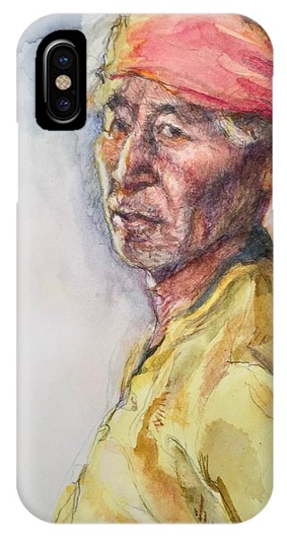 Navaho Man IPhone Case