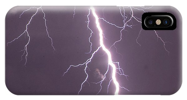 Nebraska Arcus And Lightning 046 IPhone Case