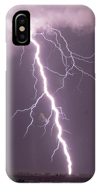 IPhone Case featuring the photograph Nebraska Arcus And Lightning 046 by NebraskaSC