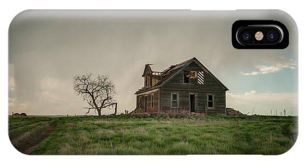 Nebraska Farm House IPhone Case