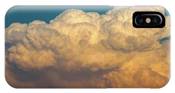 Nebraska Sunset Thunderheads 053 IPhone Case