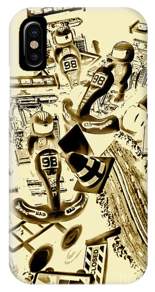 Cart iPhone Case - Need For Sepia by Jorgo Photography - Wall Art Gallery