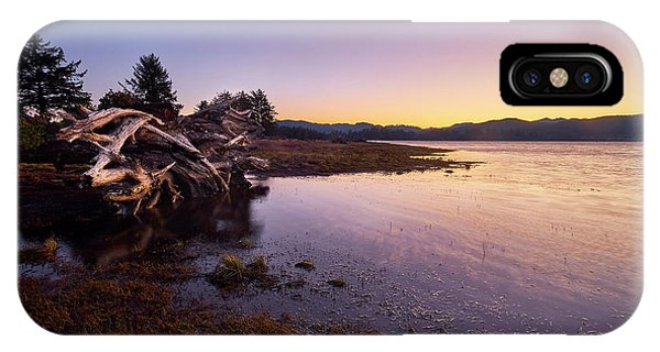 IPhone Case featuring the photograph Nehalem Bay Sunrise by Whitney Goodey