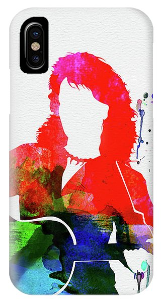 Diamond iPhone Case - Neil Diamond Watercolor by Naxart Studio