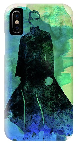 Film iPhone Case - Neo Watercolor by Naxart Studio