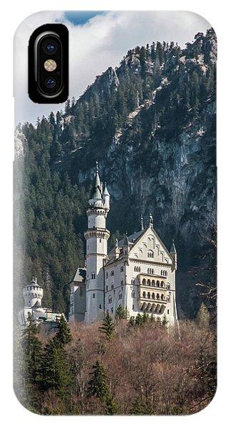 Neuschwanstein Castle On The Hill 2 IPhone Case