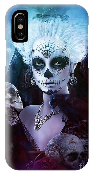 iPhone Case - Never After Sugar Doll by Shanina Conway