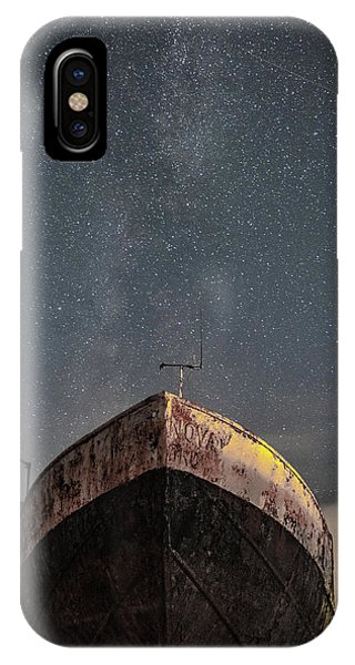 Astro iPhone Case - New Life Milkway  by Mark Mc neill