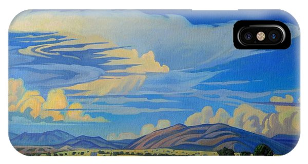 New Mexico Cloud Patterns IPhone Case