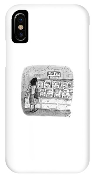New Pie IPhone Case