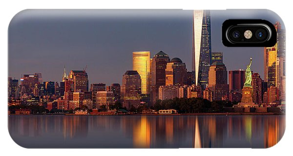 iPhone Case - New York City Icons And  Landmarks by Susan Candelario