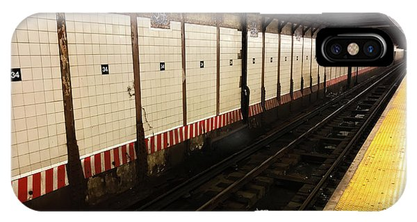 New York City Subway Line IPhone Case
