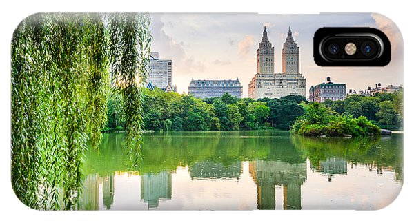Central America iPhone Case - New York City, Usa At The Central Park by Sean Pavone