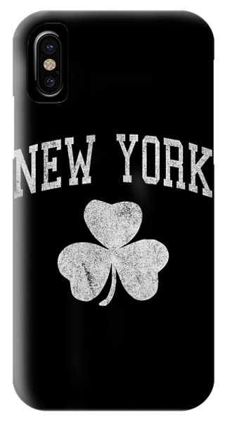 St. Patricks Day iPhone Case - New York Irish by Flippin Sweet Gear