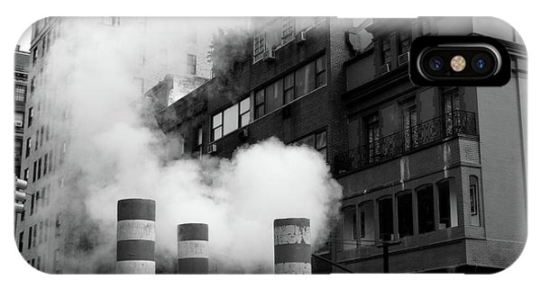 IPhone Case featuring the photograph New York, Steam by Edward Lee