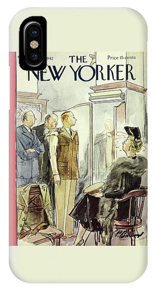 New Yorker April 18th 1942 IPhone Case