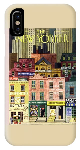 New Yorker April 6 1946 IPhone Case