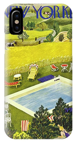 New Yorker August 10th 1946 IPhone Case